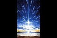 En Dieu est la vie, et La Vie Est La Lumière des hommes. La Lumière luit dans les ténèbres, et les ténèbres ne l'ont point reçu. Si vous n'êtes pas éclairé par La Lumière qui éclairera vos enfants à La Vie (Jean 1) ?
