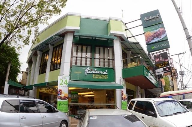 Aristocrat Restaurant in Jupiter St. makati City is Open 24 Hours