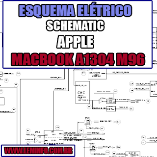 Esquema Elétrico Manual de Serviço Notebook Laptop Placa Mãe Apple MacBook Air A1304 M96 Schematic Service Manual Diagram Laptop Motherboard Apple MacBook Air A1304 M96 Esquematico Manual de Servicio Diagrama Electrico Portátil Placa Madre Apple MacBook Air A1304 M96