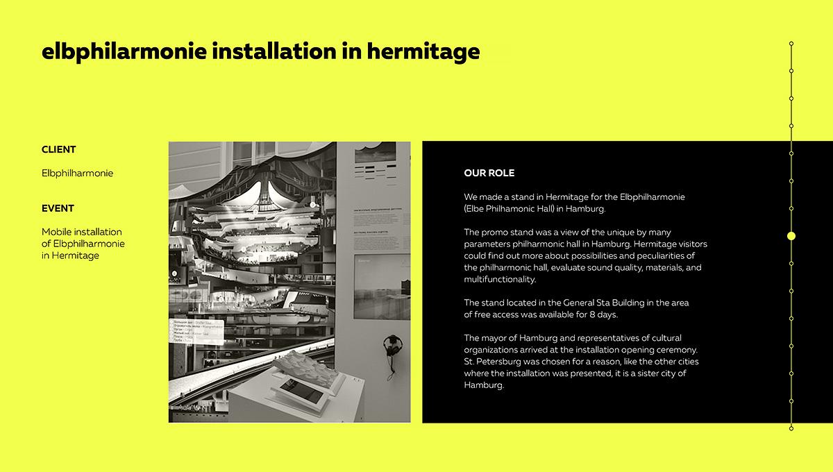 дизайн презентации, ивент-агентство Proekta