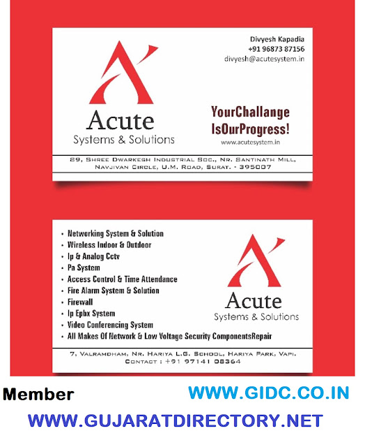 ACUTE SYSTEMS AND SOLUTIONS - 9687387156