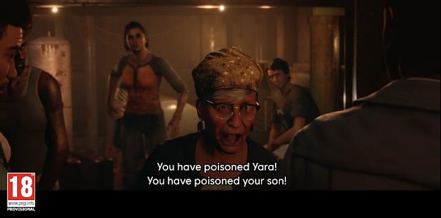 Far Cry 6 Abuela's last words poisoned your son Anton Castillo