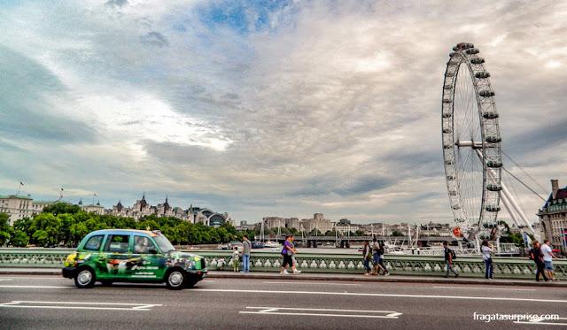 Táxis em Londres