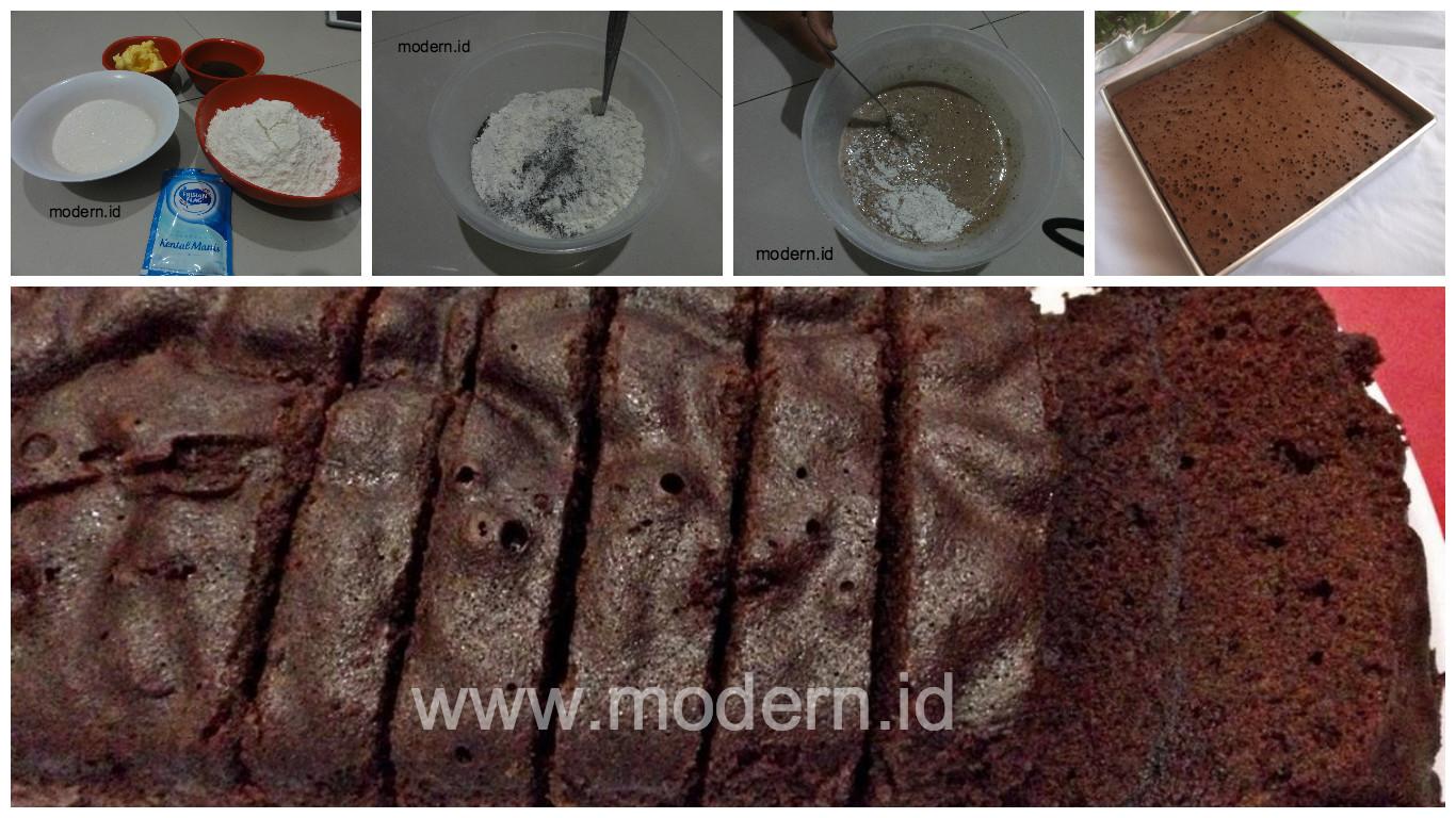 Resep Cake Kukus Tanpa Mixer Jtt: Resep Brownies Kukus Ekonomis. Cukup 15 Rb, Tanpa Telur