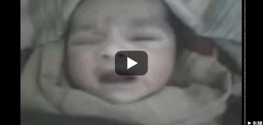 Dokter, Perawat dan Semuanya Gempar, Lihat Bayi Baru Lahir Ini Sebut Nama Allah Berkali-kali