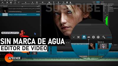 editor de video sin marca de agua para pc