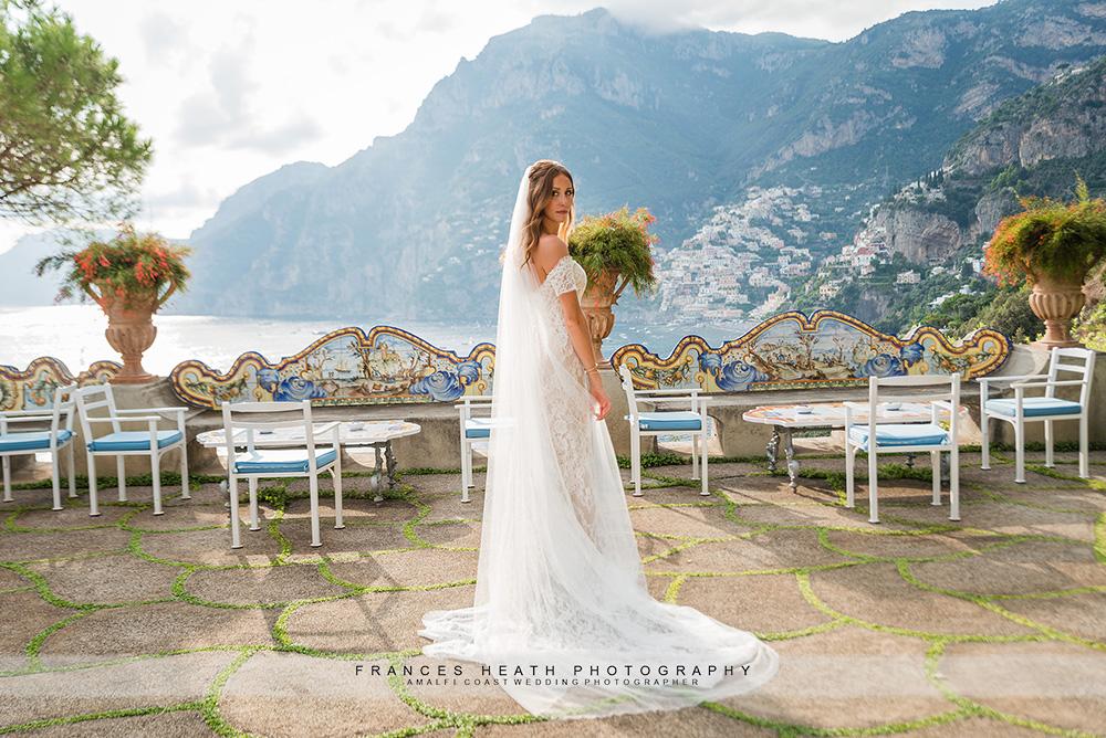 Bride at San Pietro hotel