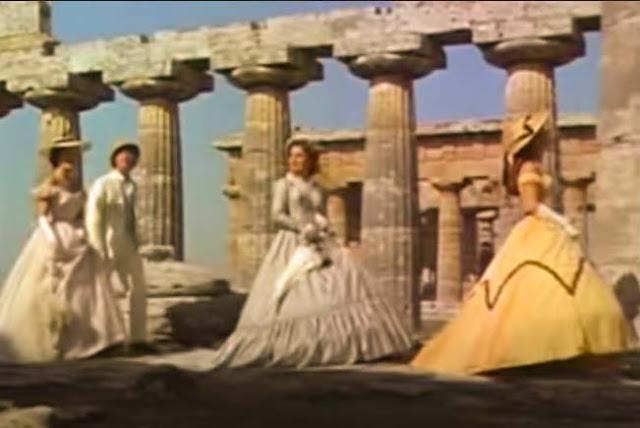 cena grécia filme Sissi 1957