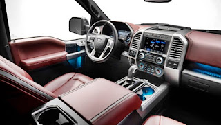 2019 Ford f150 Diesel Interior