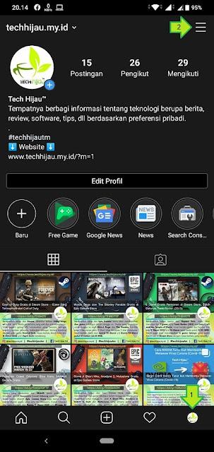 Cara Mengakses Instagram Insights (1)
