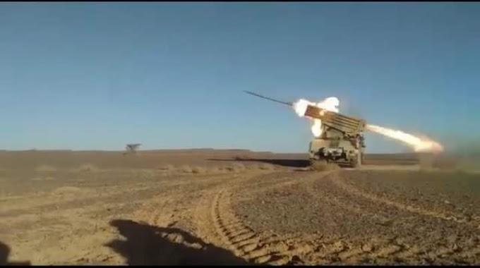 🔴 البلاغ العسكري رقم 61: وحدات الجيش الصحراوي تواصل قصف مواقع قوات الإحتلال خلف جدار العار .