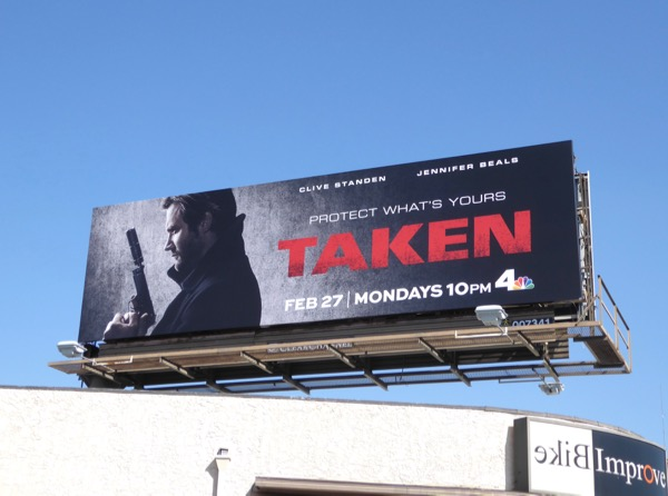 Taken season 1 billboard