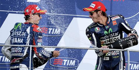 Kecewa Pada Yamaha Soal Lorenzo, Rossi Mengaku Salah