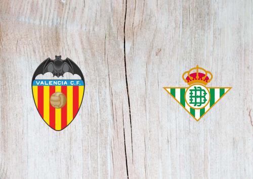 Valencia vs Real Betis -Highlights 29 February 2020
