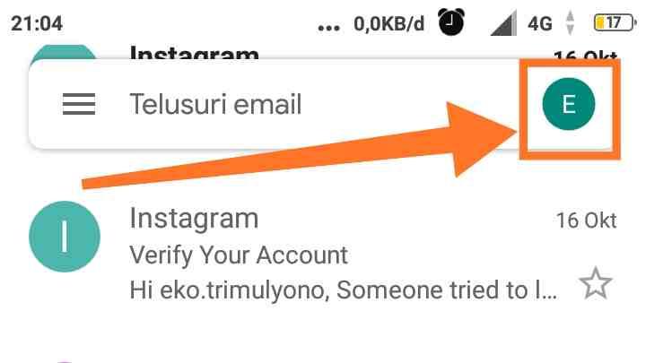 Login Gmail baru