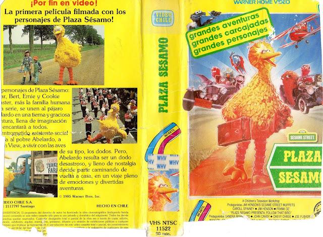 """Pelicula: """"Plaza Sesamo"""" (Buscando un ave) - 1985"""