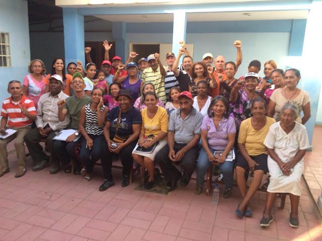 En Falcon. El Poder Popular Revolucionario conforma Comisión Promotora de la Comuna Zumurucuare-Crepusculo-Las Eugenias