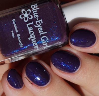 Blue Diamond Nails
