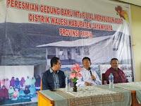 Kemenag Resmikan MTs Filial Merasugun Asso Kabupaten Jayawijaya, Papua