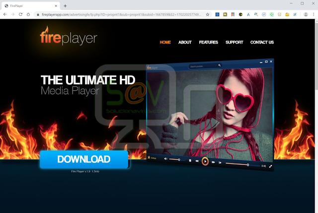 redirecciones a Fireplayerapp.com
