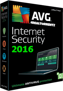 avg internet security 2016 serial