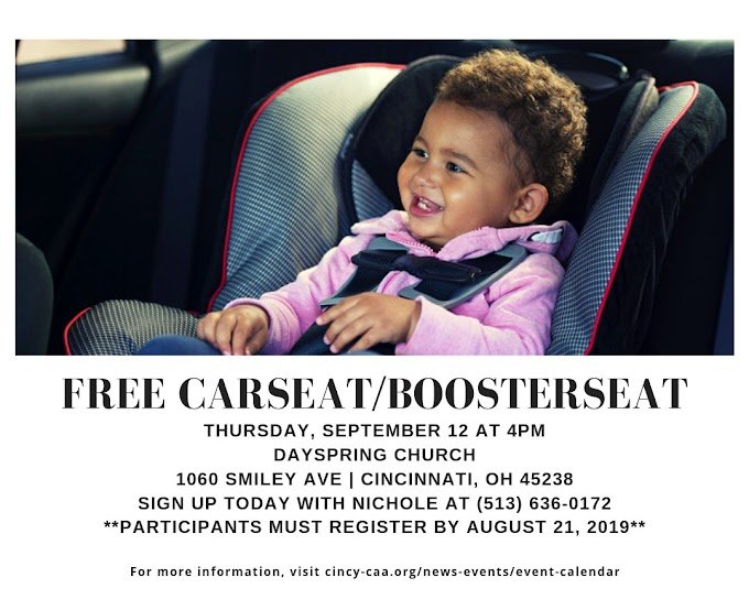 Get a Free Car Seat / Booster Seat!*