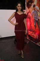 Pragya Jaiswal in Stunnign Deep neck Designer Maroon Dress at Nakshatram music launch ~ CelebesNext Celebrities Galleries 015.JPG