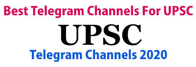 Best Telegram Channels for UPSC Preparation 2020