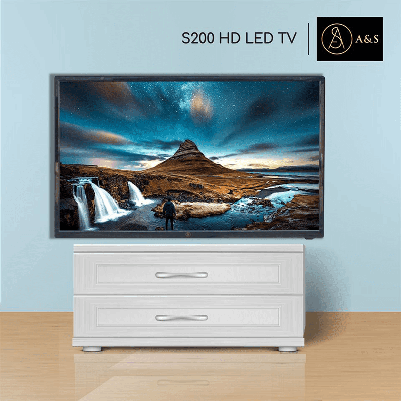 """5 Reasons to try the A&S 32"""" S200 SLIM HD LED TV"""