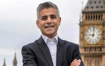 """""""صادق خان"""" أول مسلم في منصب عمدة لندن تمكن اليوم بالفوز بمنصب العمدة"""