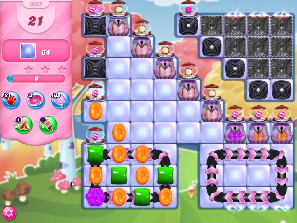 Candy Crush Saga level 3625
