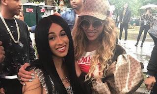 Cardi B Lacks Beyonce's Collaboration Both On Tiger Wood ?