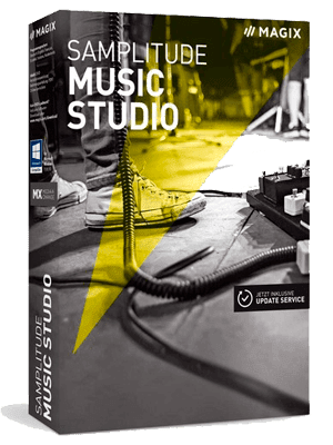 MAGIX Samplitude Music Studio box