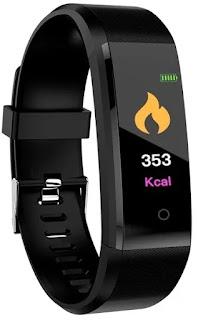 SHOPTOSHOP I D 115 Plus Bluetooth Fitness Band Smart Watch Tracker