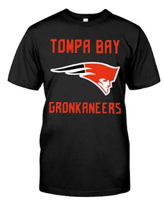 Tompa bay gronkaneers T SHIRT HOODIE SWEATSHIRT SEATER TANK TOP. GET IT HERE