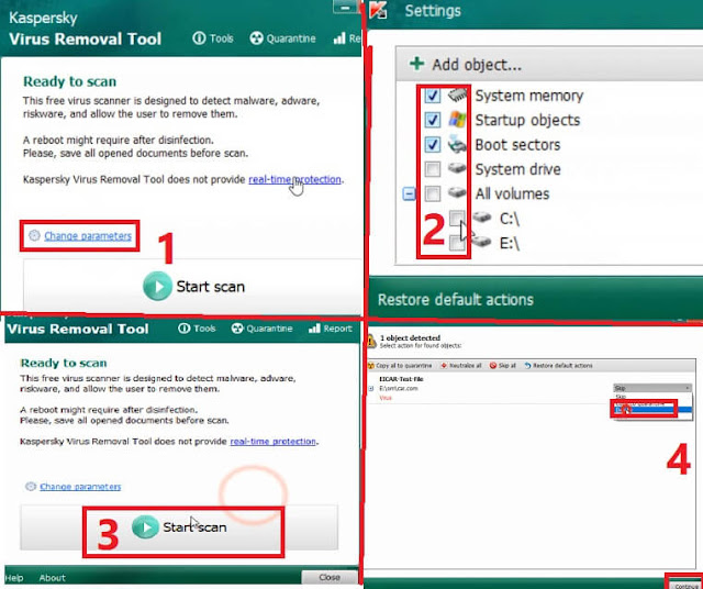 حذف فيروسات ويندوز 10