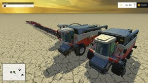 Rostelas harvesters + headers pack