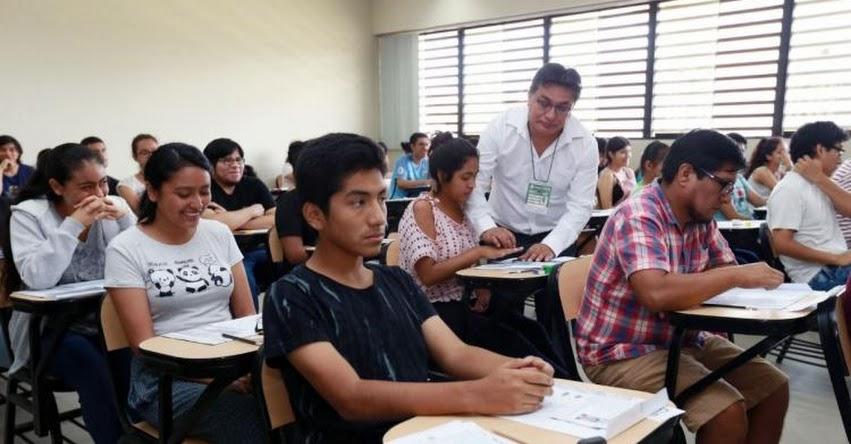 UNMSM: 12,841 postulantes rindieron este domingo el Examen de Admisión 2019-2 a la Universidad Nacional Mayor de San Marcos (Ingresantes 10 Marzo) www.unmsm.edu.pe