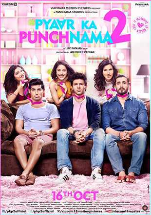 Pyaar Ka Punchnama 2 2015 Full Hindi Movie Download HDRip 720p