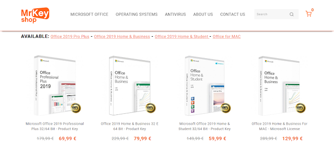 The best offers for Office 2019