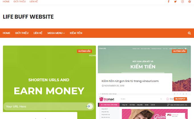 Giới thiệu trang web blogspot lifebuff.website