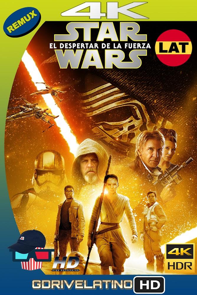 Star Wars : El Despertar de la Fuerza (2015) BDRemux 4K HDR Latino-Ingles MKV