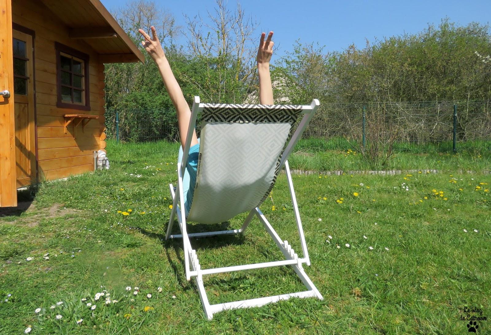 Fabriquer sa chaise de jardin