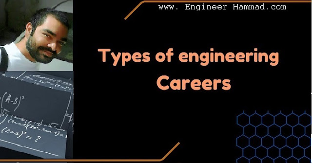 types of engineering careers, types of engineering majors, list of engineering careers.