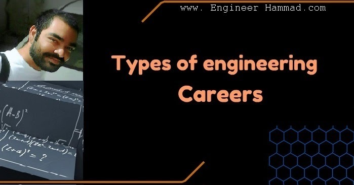 Types of Engineering Careers for Students  Engineer Hammad