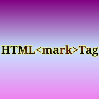 HTML <mark> tag