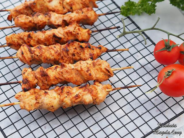 Szaszłyki w marynacie jogurtowej kebab-gyros