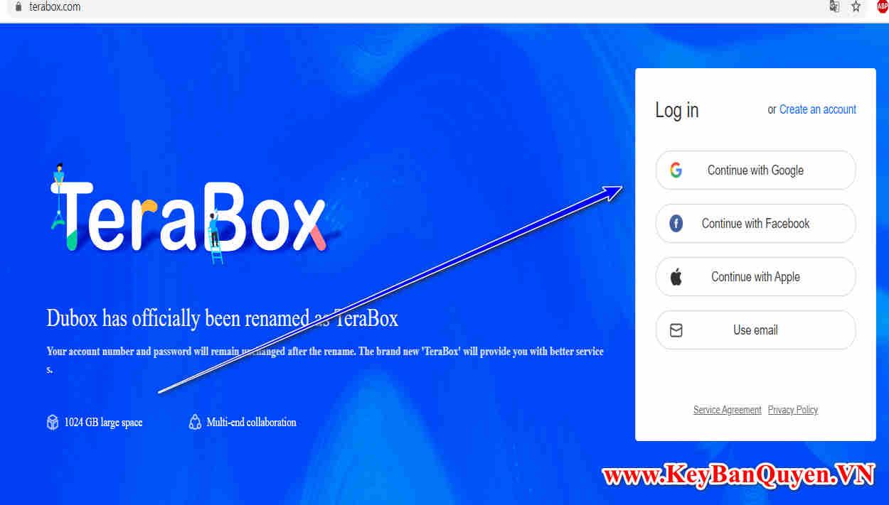 TeraBox miễn phí dung lượng 1TB lưu trữ trọn đời. Bạn nên nhanh tay.