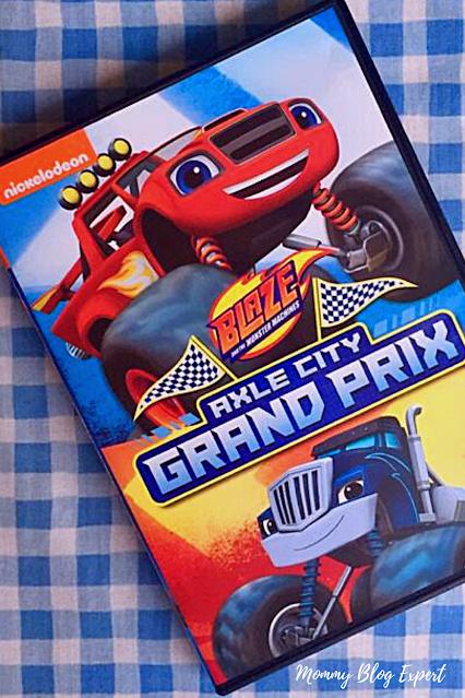 Blaze Monster Trucks Axle City Grand Prix DVD Review