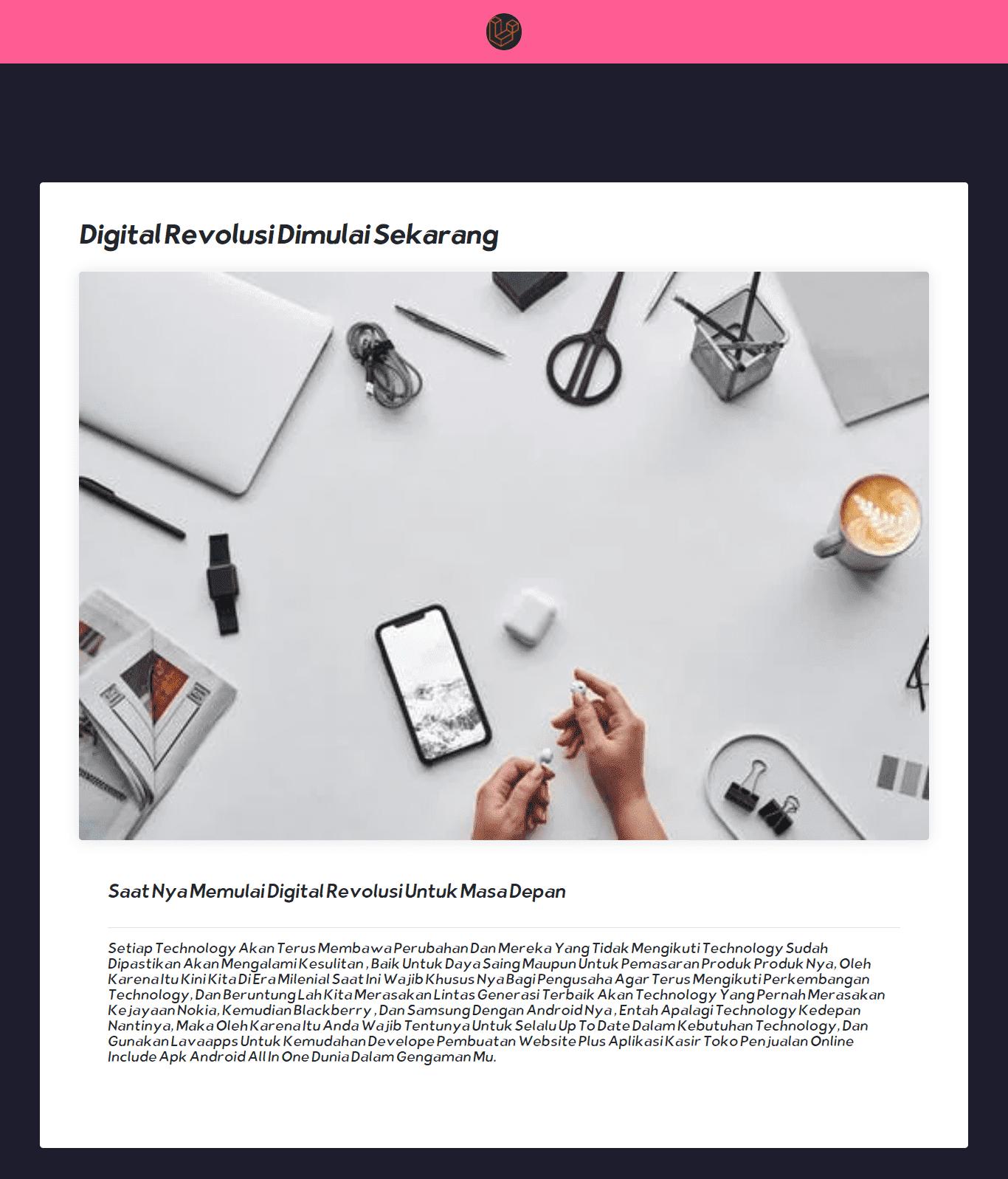 pembuatan website toko online shop toko grosir eceran dan apk android laravel